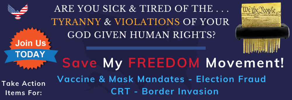 Save My Freedom banner picture